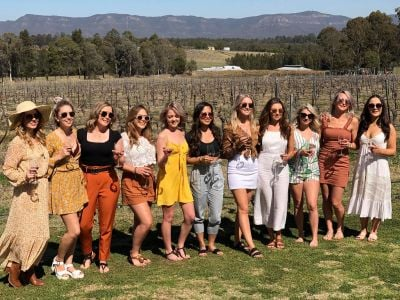 girls day out hunter valley vineyards